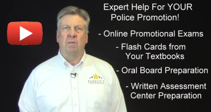 YouTube Video Expert Help with Your Police Promotion
